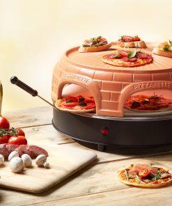 Pizzarette Stone Keep Warm 6 Persoons De Officiële Pizzarette